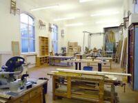 Workshop / Workspace in Brixton for Wood worker | Cabinet maker | Furniture restorer