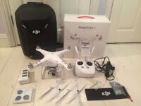 DJI Phantom 3 Advanced Drone 2.7k + Genuine DJI Backpack, ND Filters