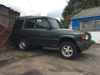 1994 Land Rover Discovery Green 300 Tdi Manual Gearbox Off Road Project