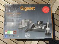 Gigaset DL500a desk phone & C610h handset - Collection only