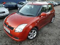 Suzuki Swift 1.5 GLX 5dr, 1 YEAR MOT,1 LADY OWNER, FULL SERVICE HISTORY , HPI CLEAR,2 KEYS, LONG MOT