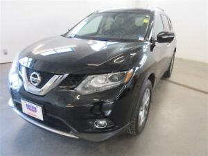 2015 Nissan Rogue SL! AWD! EXT WARR! B-UP CAM! ALLOYS! NAV! LEAT