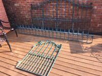 Full House Set Up Galvanised Bi-folding Gates Railings