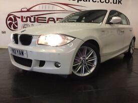 BMW 1 SERIES 2.0 120d M Sport 5dr Auto (white) 2011