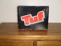 Tuf Mens size 8 steel toe cap safety boots. (shoes)