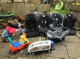 Car seats £5 each moving house!