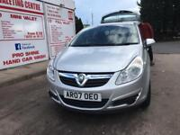 Corsa D 2007, 62000 miles, new engine with full receipts and service history, MOT