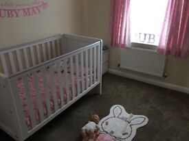 Nursery Bedding & matching Accessories for a cot bed