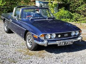 Triumph Stag 3.0 Convertible, New MOT, with the one part that cannot be restored- Low Mileage!