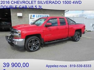 2016 CHEVROLET SILVERADO 1500 4WD DOUBLE CAB LT + BACK RACK ET P