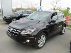 2013 Volkswagen Tiguan Comfortline/CARPROOF CLEAN/MOONROOF/LEATH