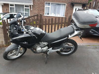 Honda XL Varadero 125cc with new tyres and 50 litre Topbox fitted