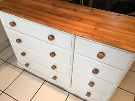 8 drawer upcycled chest