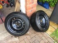 BMW Banded Steel Wheels 17in