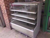 DISPLAY HOT COMMERCIAL SERVEOVER PASTRY CABINET MACHINE CATERING TAKEAWAY SHOP KITCHEN DINER CANTEEN