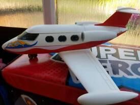 Playmobil plane and 6