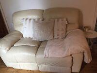 Leather 2 + 1 sofa