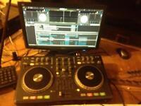 Numark Mixtrack Pro Dj controler mixing desk