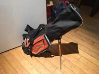 Children golf bag and right hand clubs