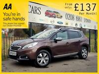 PEUGEOT 2008 1.6 E-HDI ALLURE FAP 5d AUTO 92 BHP Apply for finance Online today! (brown) 2013