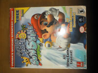 Super Mario Sunshine Prima's Official Straegy Guide - Gamecube