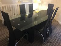 Dining Table (Extendable)and 6 Chairs