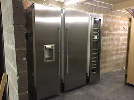 Gaggenau Triple Combi Set Fridge Freezer and Wine Cooler