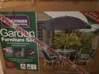 New Kingfisher 6 piece Garden Set