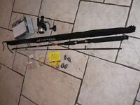 Brand new XL Technique fishing rod with Cormoran 3000 reel and tackle