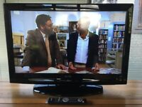 """Sanyo 32"""" HD Ready Flat Screen LCD TV - Excellent Condition"""