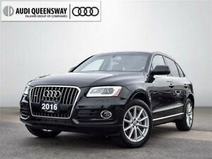 2016 Audi Q5 2.0T Technik, Clean Carproof, Navigation