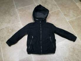Boys black jacket, age 4-5