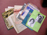 Vintage Sheet music pop classical collectible