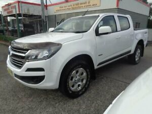 2016 Holden Colorado RG MY17 LS (4x4) White 6 Speed Manual Crew Cab Pickup Sandgate Newcastle Area Preview