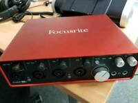 Brand New focusrite scarlett 18i8