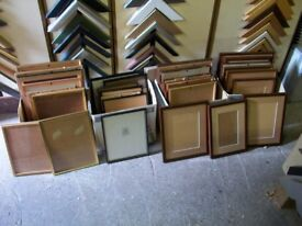 OVER 40 PICTURE FRAMES