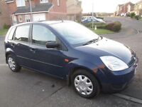 FORD FIESTA LX 1.4 TDCI DIESEL (ONLY £30 TAX) 2002 MOT JULY 2017 AS ASTRA CORSA CLIO PUNTO 207 107