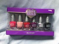 Love nails nail varnish set