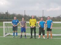 football players wanted for 5aside football team.