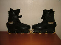 Roller Boots/Inline Skates Size about 8/9