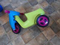 Push along toddler trike