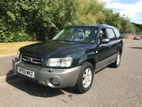 SUBARU FORESTER X ALL WEATHER A FULL YEARS MOT