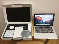 APPLE MACBOOK PRO 13INCHES 2.5GHZ i5-16GBRAM-500GB-OFFICE-LOGIC PRO-ADOBE CS6-MID 2012 -BOXED