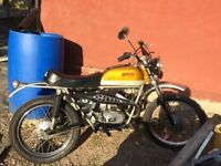1972 fantic cabellero 49cc, totally original unrestored excellent cond-