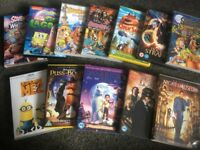 20 x Kids/Family DVD (PG-13) Bulk Pack (Despicable Me, Spongebob, Open Season, Night at the Museum)
