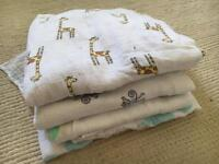 Swaddle muslins for sale