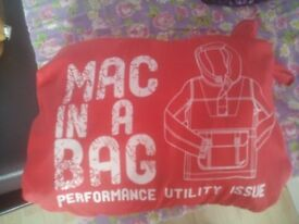 Girls Lightweight Jacket (age 6-7 years) (Mac in a Bag - folds into itself
