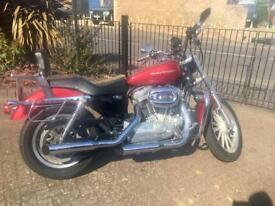 Harley Davidson XLH 883, Low Mileage, Lots of Accessories Included