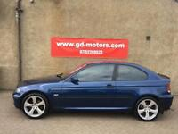 BMW 316TI SE COMPACT (03) 1 YEAR MOT £995