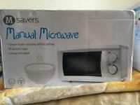 Brand New Unboxed 700W Microwave Oven